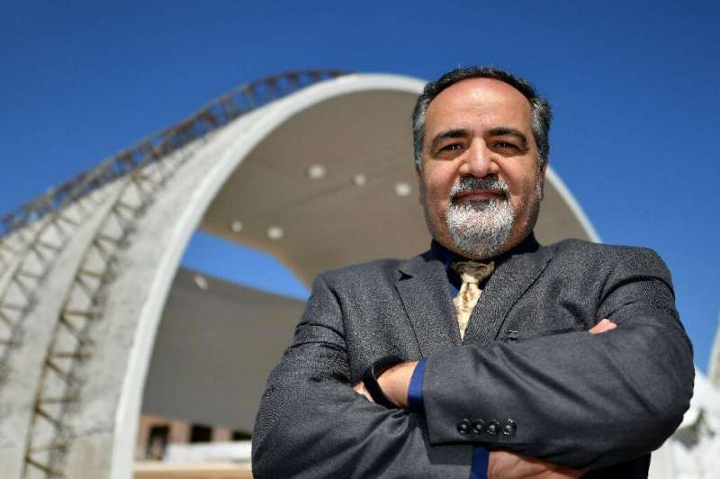 Jamal Rostami believes Moon colonists could live underground