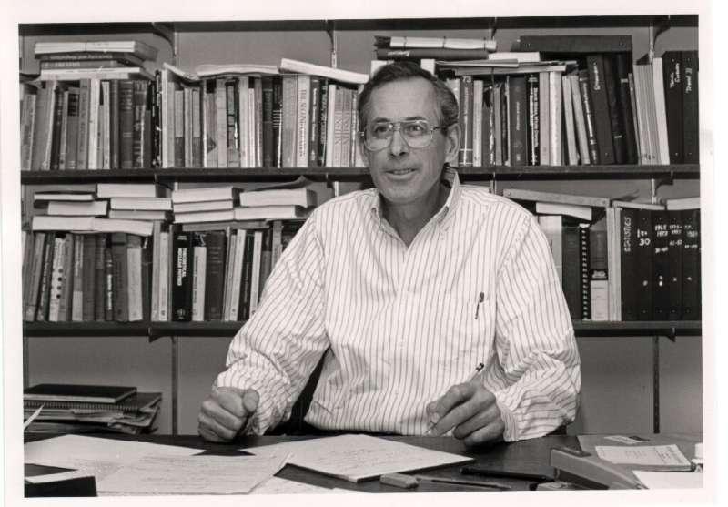 James Peebles at Princeton in 1990