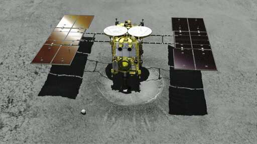 Japanese spacecraft to attempt landing on distant asteroid