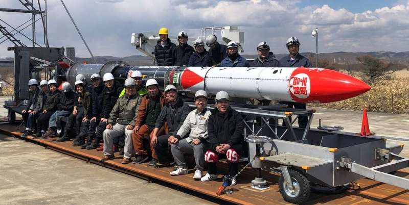Japanese startup hopes to launch a sounding rocket into space