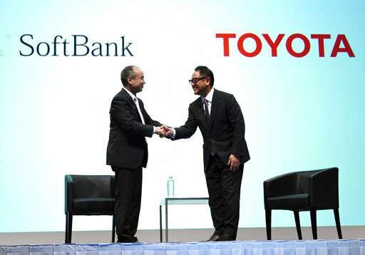 Japan's Honda, Hino join SoftBank-Toyota mobility venture