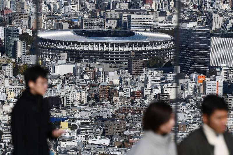 Japan's main stadium for the 2020 Olympics has been built in the centre of Tokyo on the site of the 1964 stadium