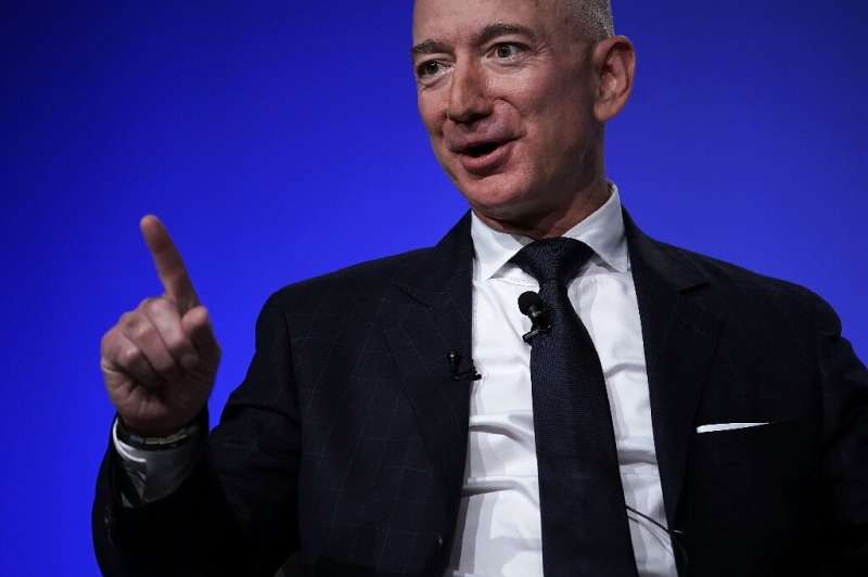 Jeff Bezos finances his own rocket company, Blue Origin, which should be able to secure him a competitive price for the dozens o