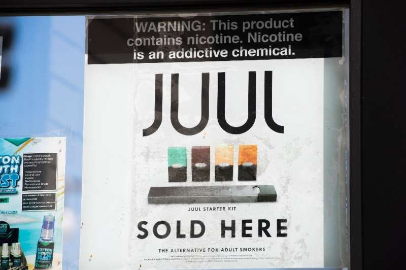Juul Labs was growing rapidly before the apparent health dangers of e-cigarettes ignited alarm