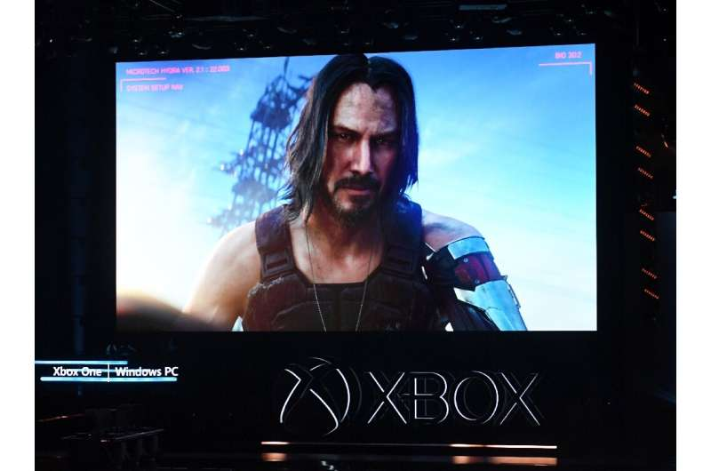 """Keanu Reeves announces the new video game """"Cyberpunk 2077"""" at the Microsoft Xbox press event"""