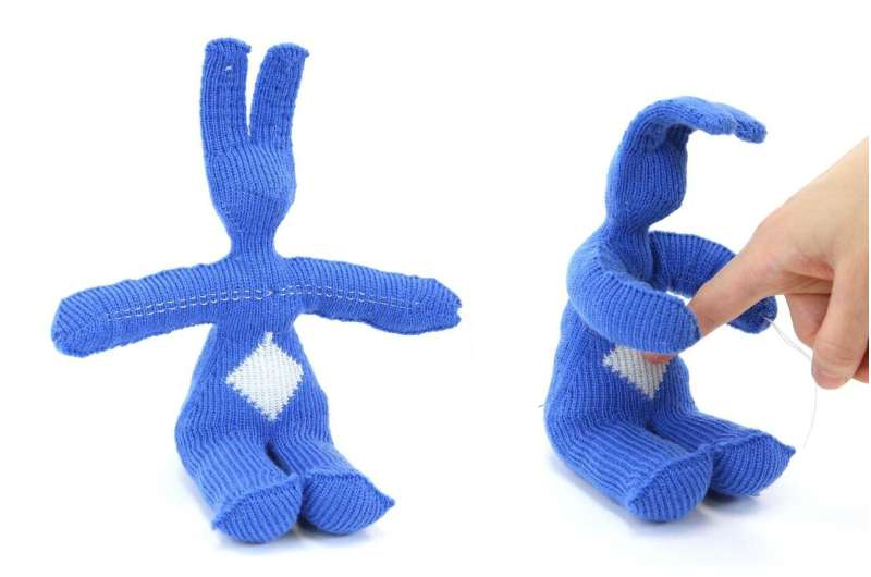 Knit 1, purl 2: Assembly instructions for a robot?