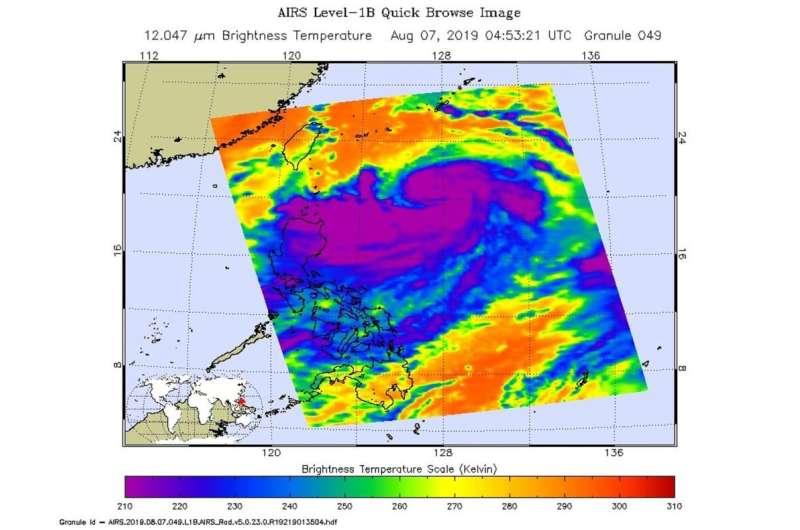 Lekima becomes Supertyphoon, heading towards Eastern China