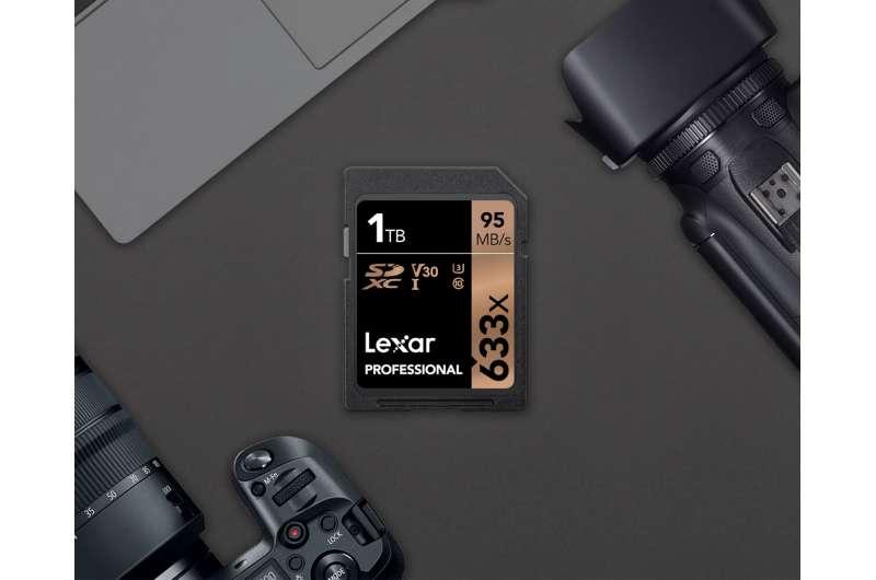Lexar lifts flash memory storage card to 1TB level