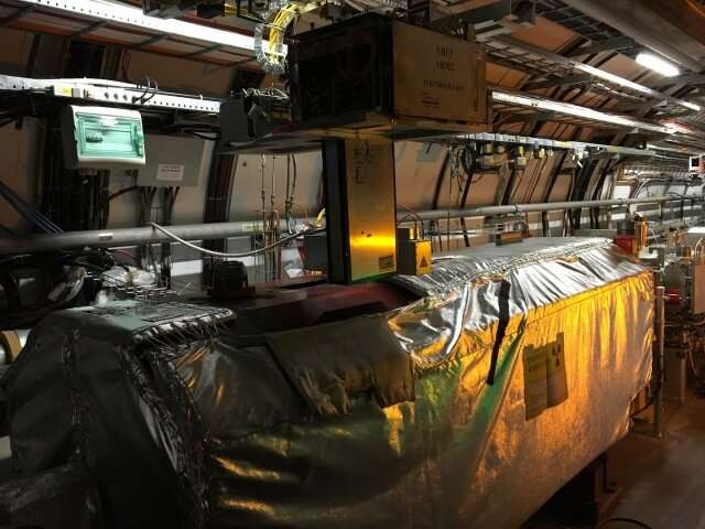 LHCf gears up to probe birth of cosmic-ray showers
