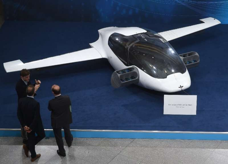 """Lilium, which showed a prototype """"air taxi"""" in 2018, says it will offer prices similar to regular taxis but will be fo"""