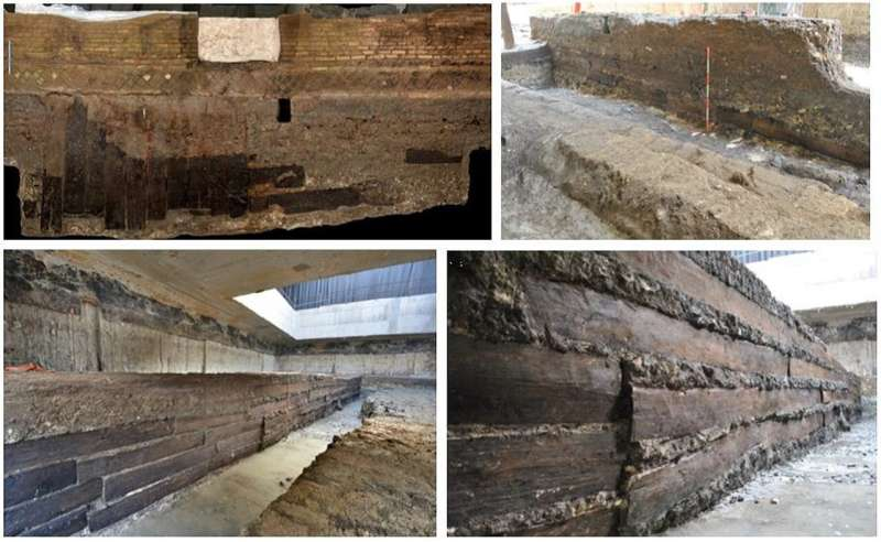 Long-distance timber trade underpinned the Roman Empire's construction