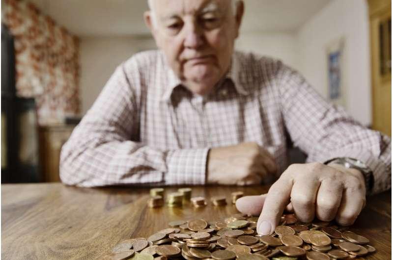 Lower pension, shorter life