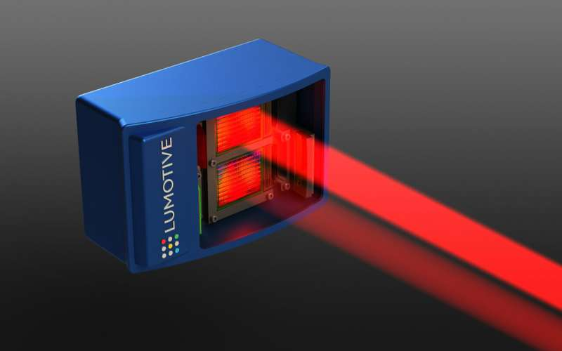 Lumotive spreads word on its lidar system for autonomous vehicles