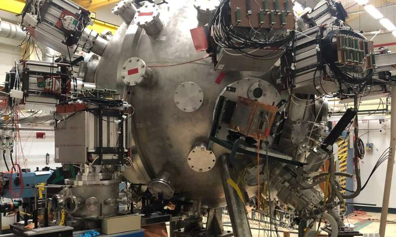 Magneto-inertial fusion experiment nears completion