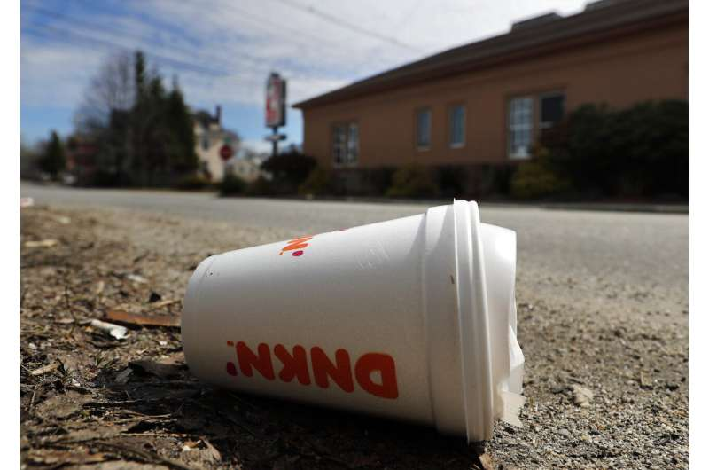 Maine becomes 1st state to ban single-use foam containers