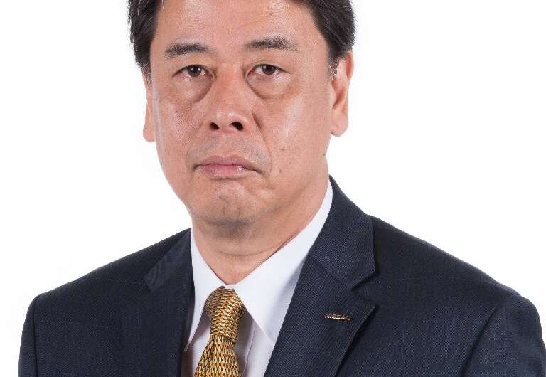 Makoto Uchida has been named new CEO of crisis-hit Japanese automaker Nissan