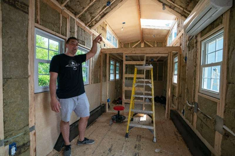 Marcus Stoltzfus, whose company Liberation Tiny Homes has completed more than 65 projects, emphasizes that the houses are made w
