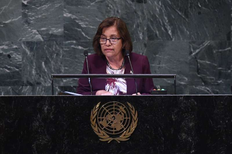 Marshall Islands' President Hilda Heine has discussed the legacy left from the nuclear detonations, and the prospect of radioact