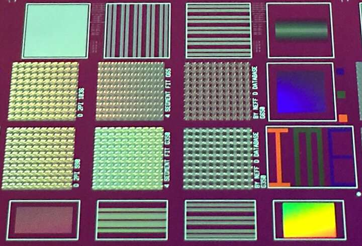 Mass manufacturing of metasurfaces