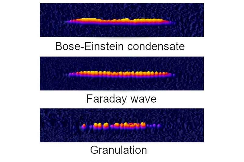 Matter waves and quantum splinters