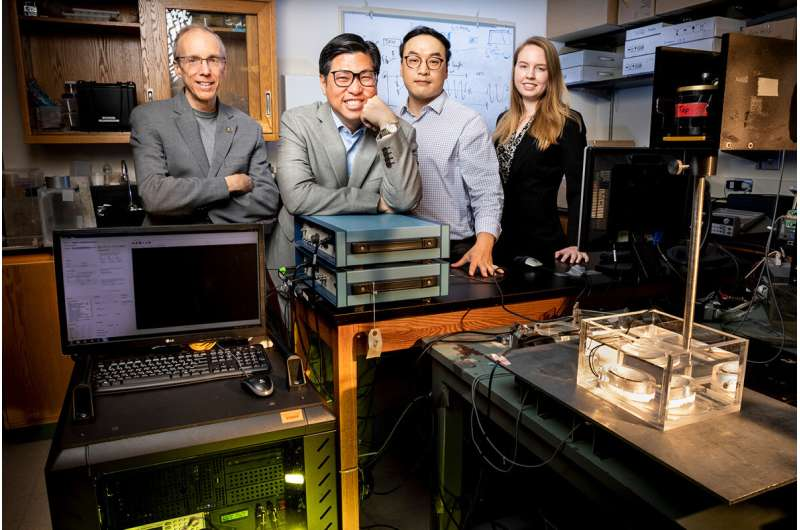 Mechanics, chemistry and biomedical research join forces for noninvasive tissue therapy