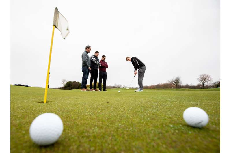 Mental practice may improve golfers' putting performance