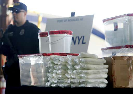 'Mexican oxy' pills in US Southwest lift fentanyl death toll
