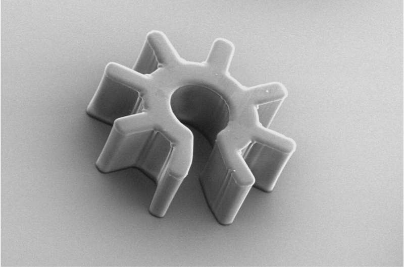 Microrobots to change the way we work with cellular material