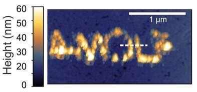 Microscope prints patterns at the nanoscale