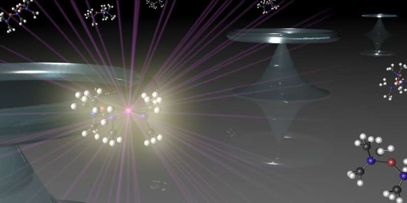 Molecular vibrations lead to high performance laser