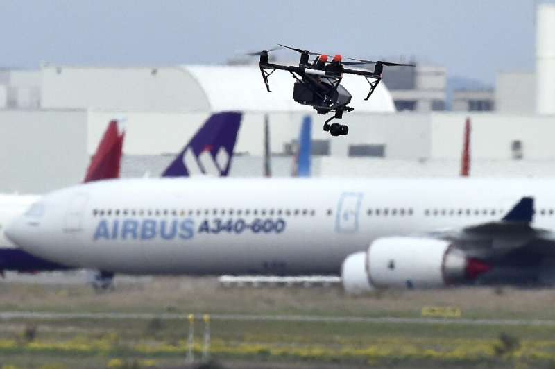 More than a nuisance, drones flying by airports pose a real danger as they could cause a deadly accident if they get sucked into