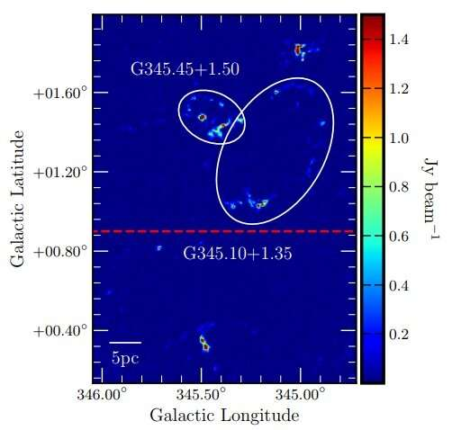 **Multiwavelength observations of star-forming region uncover dozens of new celestial objects