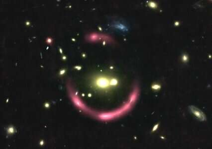 MUSE reveals a glowing ring of light in the distant universe