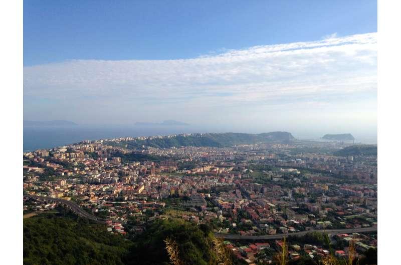 Mysterious eruption came from Campi Flegrei caldera