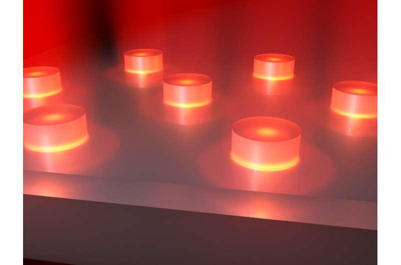 Nano bulb lights novel path