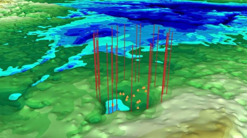 NASA finds possible second impact crater under Greenland ice