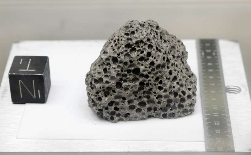 NASA opening moon rock samples sealed since Apollo missions