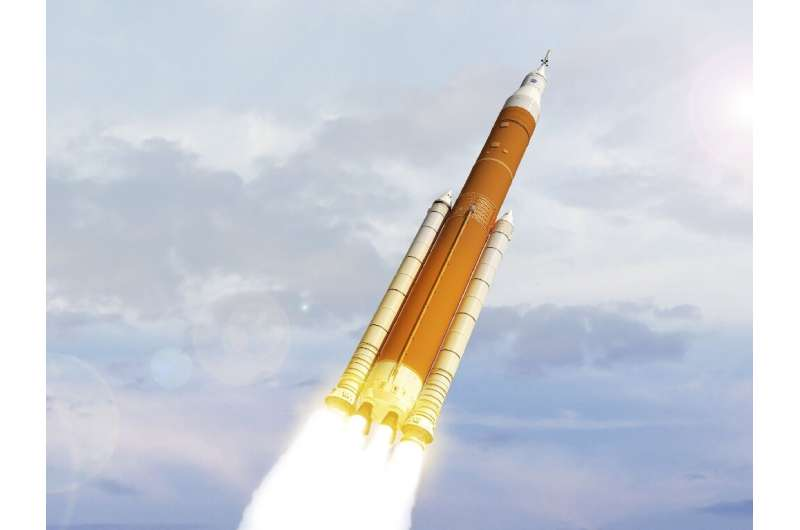 NASA's Artemis mission to the Moon is behind schedule in part because of delays in building the next-generation Space Launch Sys