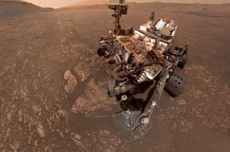 NASA's Curiosity Mars rover finds a clay cache
