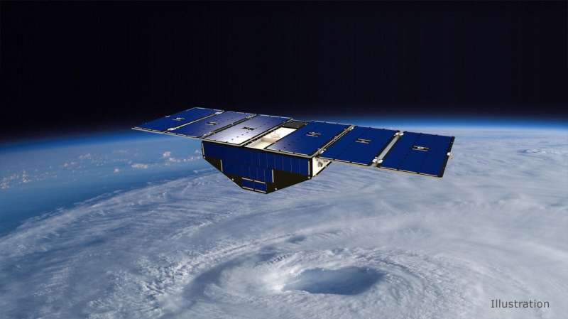 NASA small satellites can aid hurricane forecasts with GPS