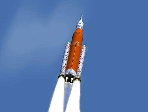 NASA's new rocket won't be ready for moon shot next year