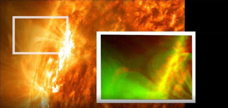 NASA's SDO sees new kind of magnetic explosion on sun