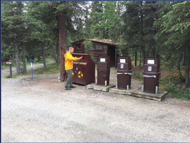 National trash: Reducing waste produced in US national parks