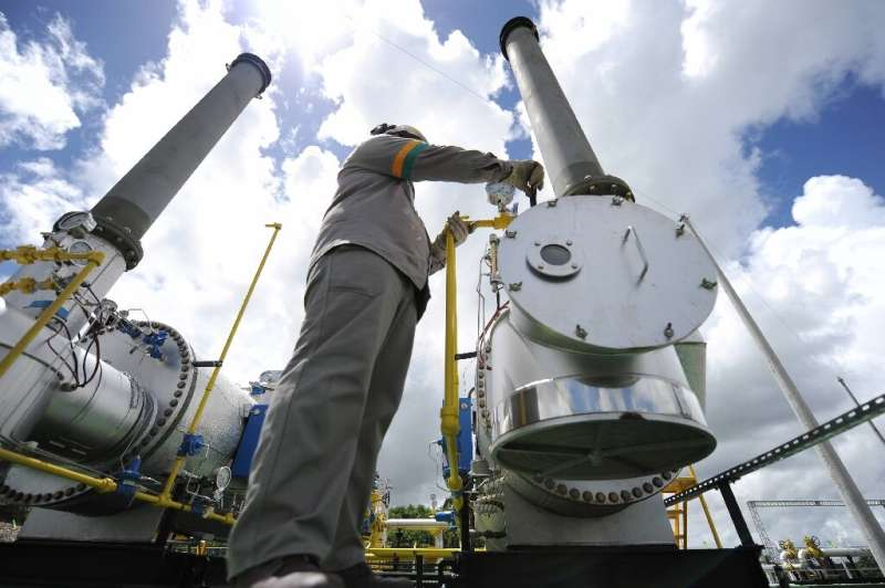 Natural gas is widely seen as key to the fight against global warming but it might be just as problematic as other fossil fuels,
