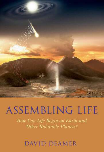 New book by biochemist David Deamer explores the origins of life