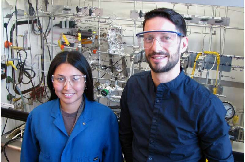 New catalyst helps turn carbon dioxide into fuel
