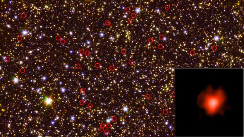 **New clues about how ancient galaxies lit up the universe