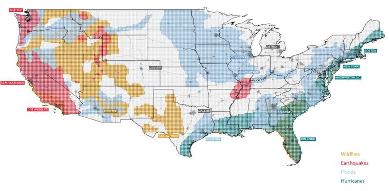 New collection of maps and datascapes capturing the spatial consequences of climate change