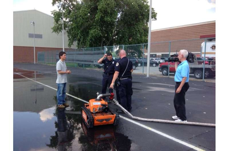 New design improves firefighting robots, increases maneuverability to fight fires better, save lives