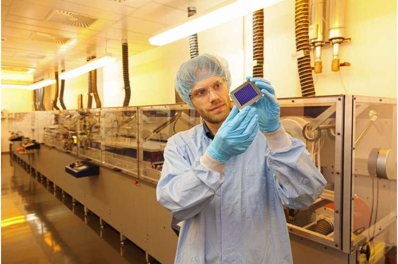 New efficiency world record for organic solar modules